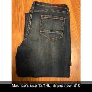 Maurice's size 13/14L brand new.